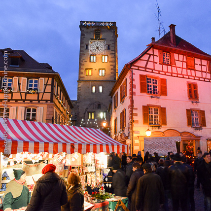 At the medieval Christmas market of Ribeauvillé