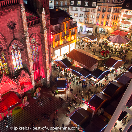 Mulhouse organises a spectacular Christmas market usually open as soon as end of November.